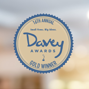 2020 Gold Winner, Davey Awards