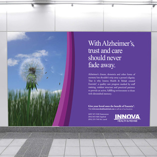 Medical Services Outdoor Advertisement, Design for Print