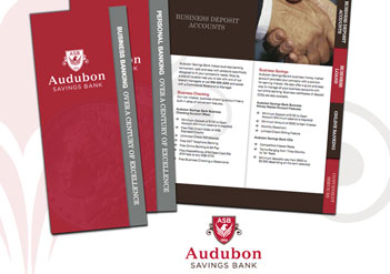 Audubon Savings Bank Sales Kit