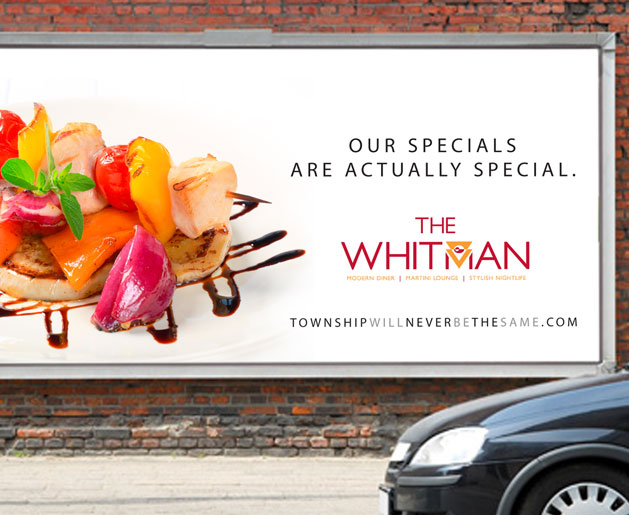 The Whitman Outdoor Advertising